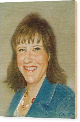 Kathleen Wood Print by Zelma Hensel