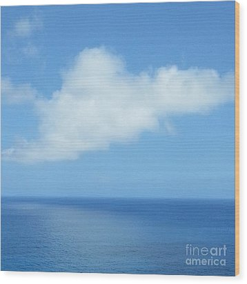 Wood Print featuring the photograph Kauai Blue by Joseph J Stevens