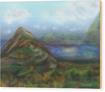Kauai Wood Print