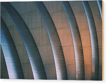 Kauffman Performing Arts Center Wood Print