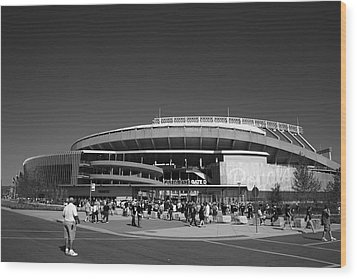 Kauffman Stadium - Kansas City Royals 2 Wood Print by Frank Romeo