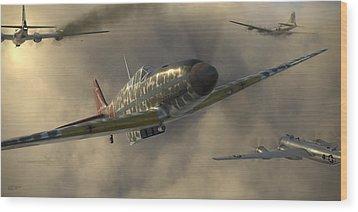 Kawasaki Ki-61-i Tei Wood Print