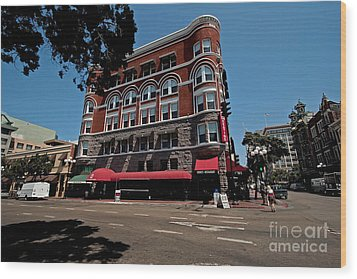 Keating Hotel Wood Print by Russell Christie