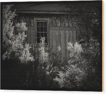 Keeler Railroad Station Wood Print