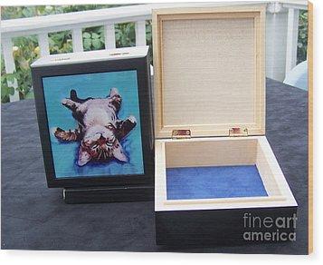 Keepsake Box Wood Print by Pat Saunders-White
