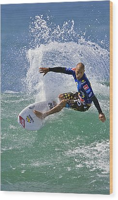 Kelly Slater  Eom7785 Wood Print by David Orias
