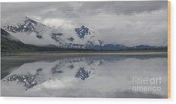 Kenai Lake Alaska Wood Print