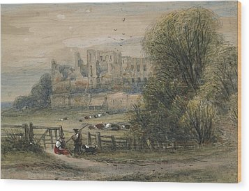 Kenilworth Wood Print by James Orrock