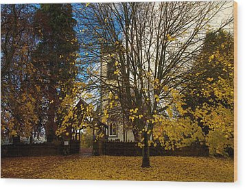 Wood Print featuring the photograph Kenmore Church by Stephen Taylor