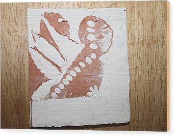 Kenna - Tile Wood Print by Gloria Ssali