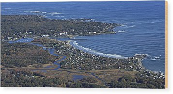 Kennebunk, Maine Wood Print by Dave Cleaveland