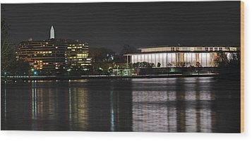 Kennery Center For The Performing Arts - Washington Dc - 01131 Wood Print by DC Photographer