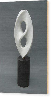 Kensho Wood Print by Leslie Dycke