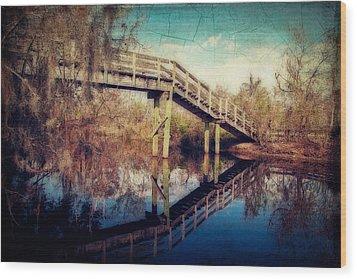Kenta Canal Wood Print