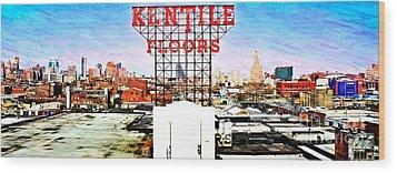 Kentile Floors Wood Print