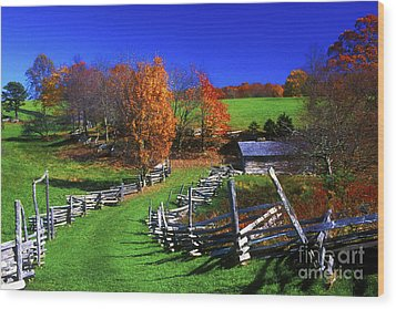 Kentucky Settlement Wood Print by Paul W Faust -  Impressions of Light