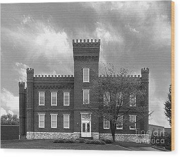 Kentucky State University Jackson Hall Wood Print by University Icons