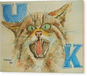 Kentucky Wildcats Wood Print