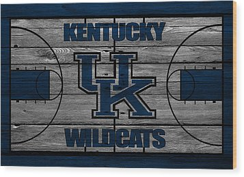 Kentucky Wildcats Wood Print by Joe Hamilton