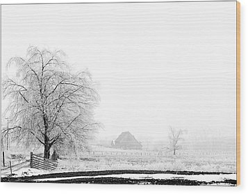 Kentucky Winter  Wood Print by Wendell Thompson