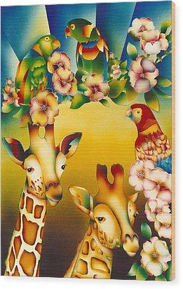 Kenya Kingdom Wood Print
