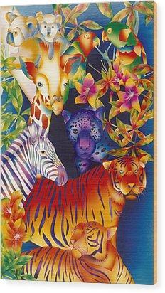 Kenya Secrets Wood Print