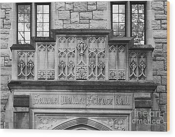 Kenyon College Samuel Mather Hall Wood Print by University Icons