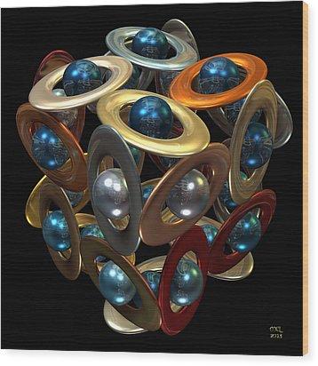 Kepler's Dream Wood Print