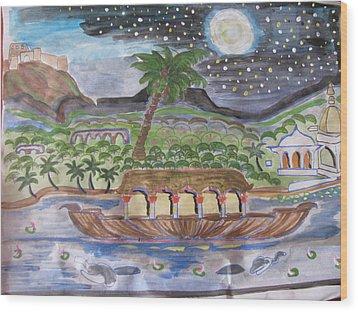 Kerela  Wood Print