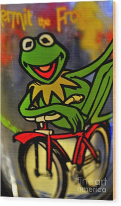 Kermit The Frog  Wood Print