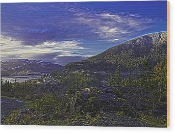 Ketchikan 4 Wood Print