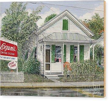 Key West 1955 Wood Print
