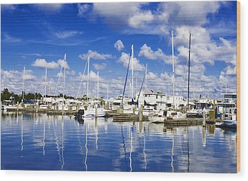 Key West Wood Print by Swank Photography