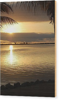 Key West Sunrise Wood Print