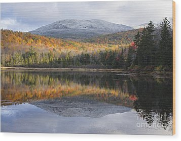 Kiah Pond - Sandwich New Hampshire Usa Wood Print