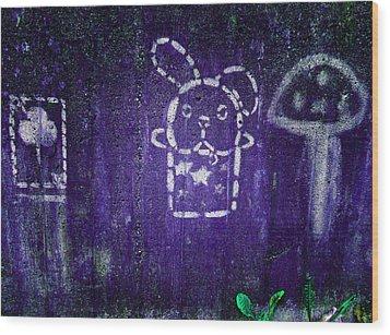Kids' Wall 2 Wood Print