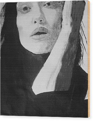 Kiera Knightley Wood Print