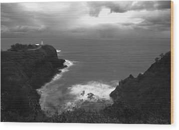 Kilauea Lighthouse I Wood Print by Maxwell Amaro