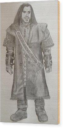 Kili From The Hobbit Wood Print by Noah Burdett