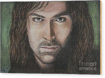 Kili The Dwarf Wood Print