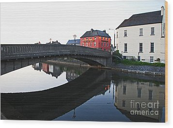 Wood Print featuring the photograph Kilkenny by Mary Carol Story