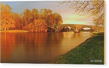 Kilsheelan Bridge Wood Print