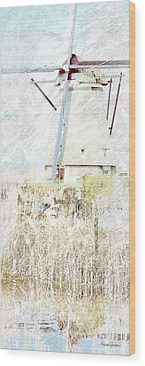 Kinderdijk 5b Wood Print