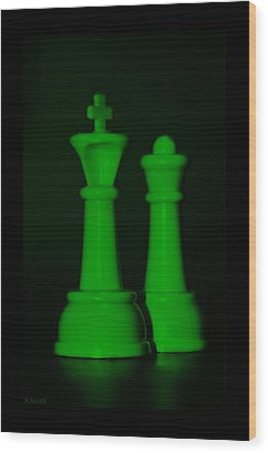King And Queen In Green Wood Print by Rob Hans
