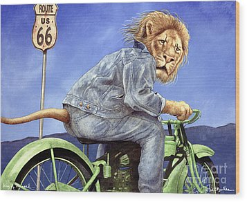 King Of The Road... Wood Print by Will Bullas