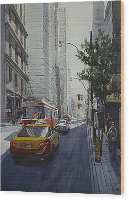 King Street 01 Wood Print by Helal Uddin