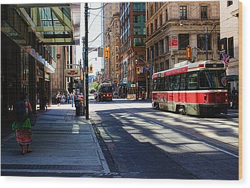 King Street East Wood Print