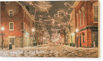 Wood Print featuring the photograph King Street by JC Findley