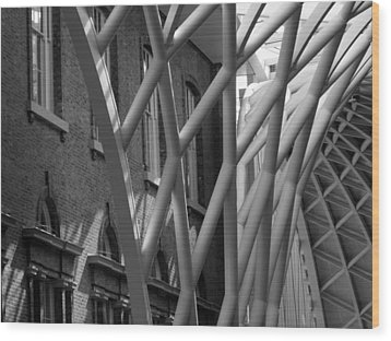 King's Cross Concourse Wood Print