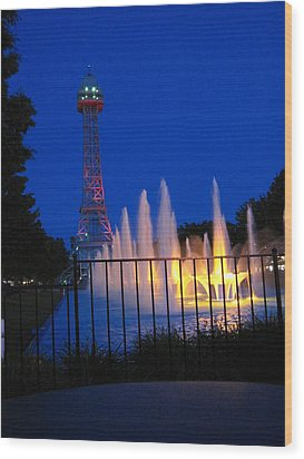 Kings Island - 121240 Wood Print by DC Photographer